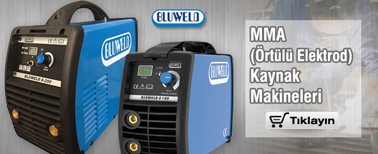 BLUWELD MMA Örtülü Elektrod Kaynak Makineleri