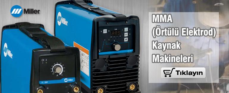 MILLER MMA Örtülü Elektrod Kaynak Makineleri
