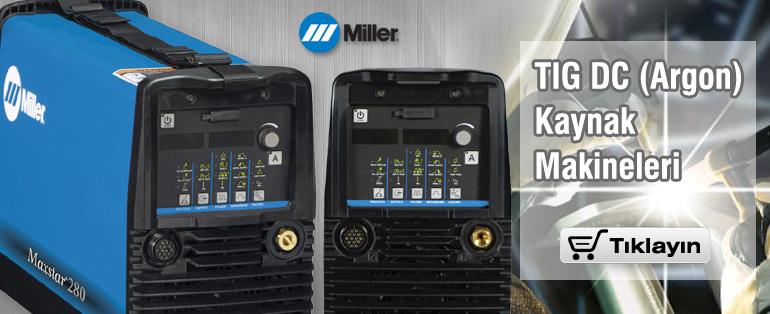 MILLER Tig DC Kaynak Makineleri